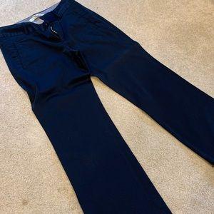Banana Republic Martin Fit Wide-Leg Cuff Trousers